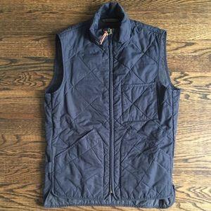 J. CREW Men's blur Outerwear Vest Size XS